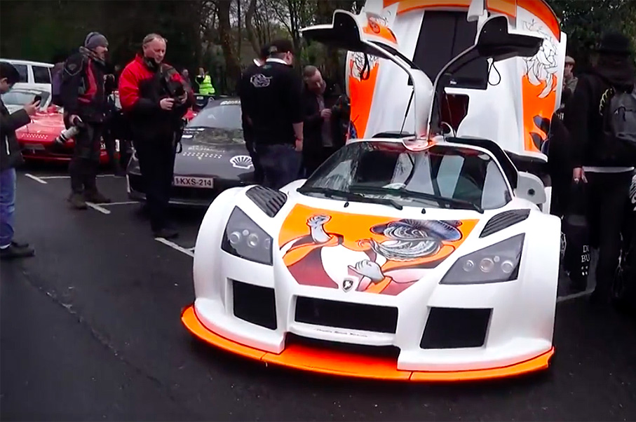 Watch the Complete Start of the 2016 Gumball 3000 Supercar Rally