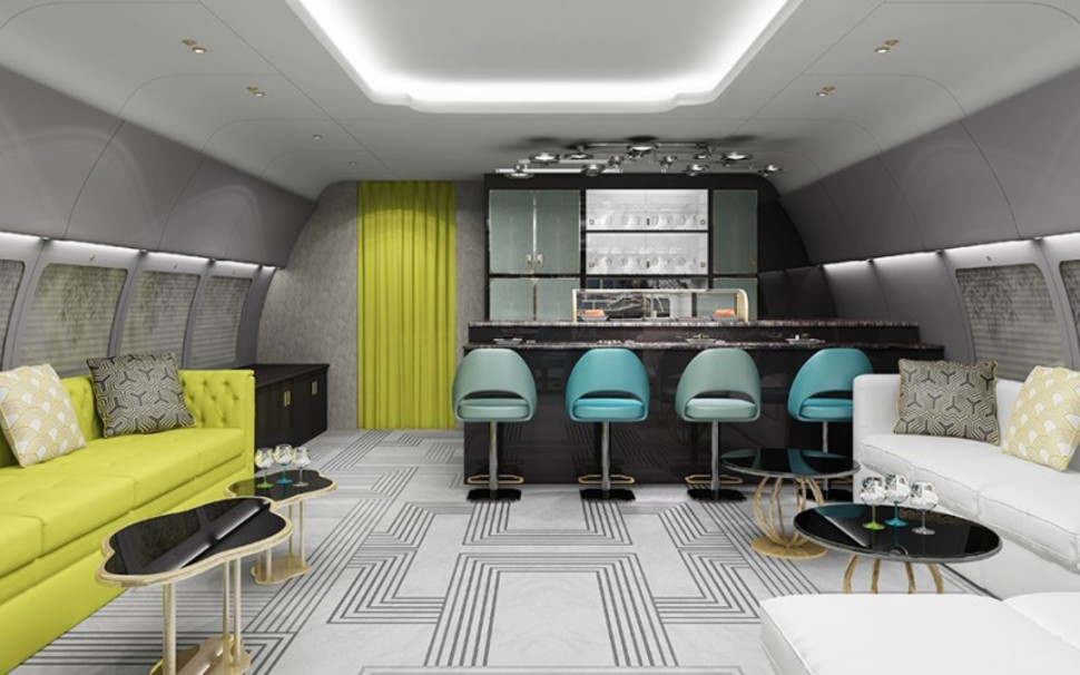 This Jumbo Jet Interior Puts All Other Private Jets To
