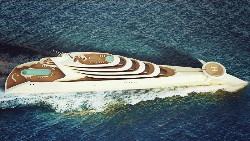 HBD Designs Lamage Superyacht