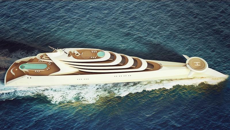 HBD Designs Lamage Superyacht
