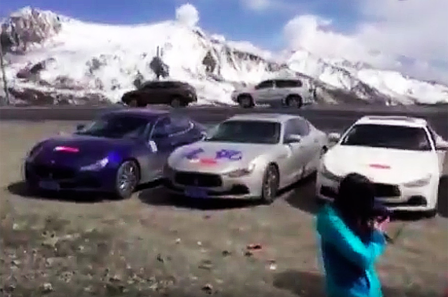 See Video Of The Guys Who Tried To Drive Supercars Through the Himalayas—And Failed Miserably