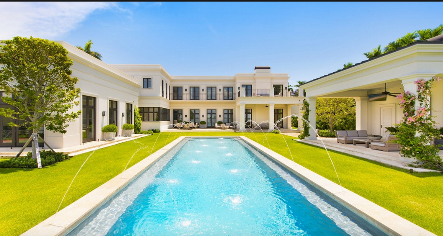 If You Re Going To Fantasize About Life In Miami Why Not Drop This 31 Million Mansion Into Those Dreams The 7 Bedroom 10 Bathroom Neo Classical Estate