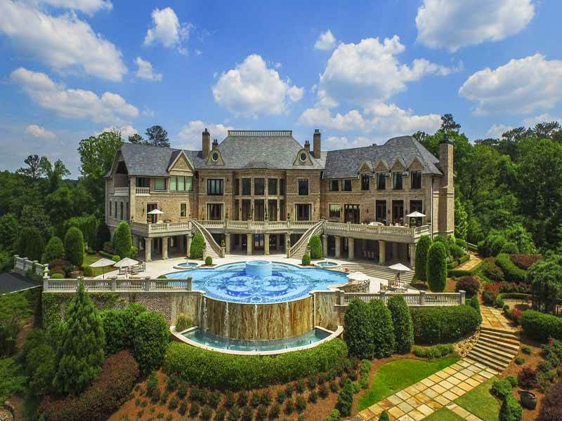 Atlanta's Most Luxurious Estate is Straight Out of a Modern Fairytale