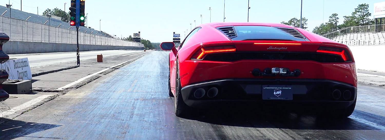 Watch This Lamborghini Break a 1/4 Mile World Record