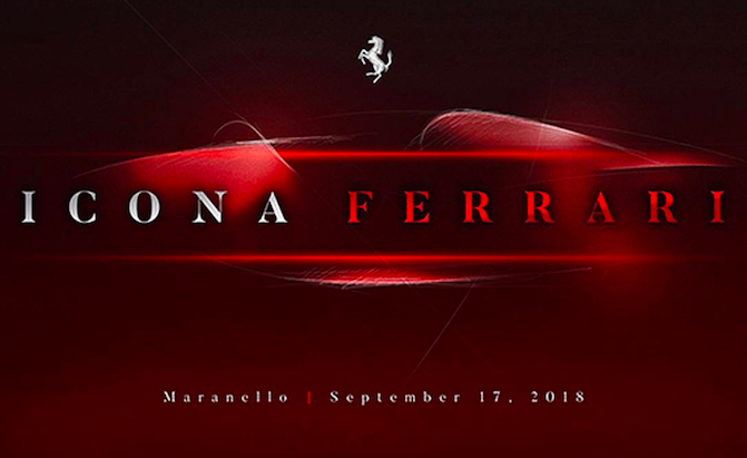 An 'Iconic' New Ferrari is Set to Land Next Month