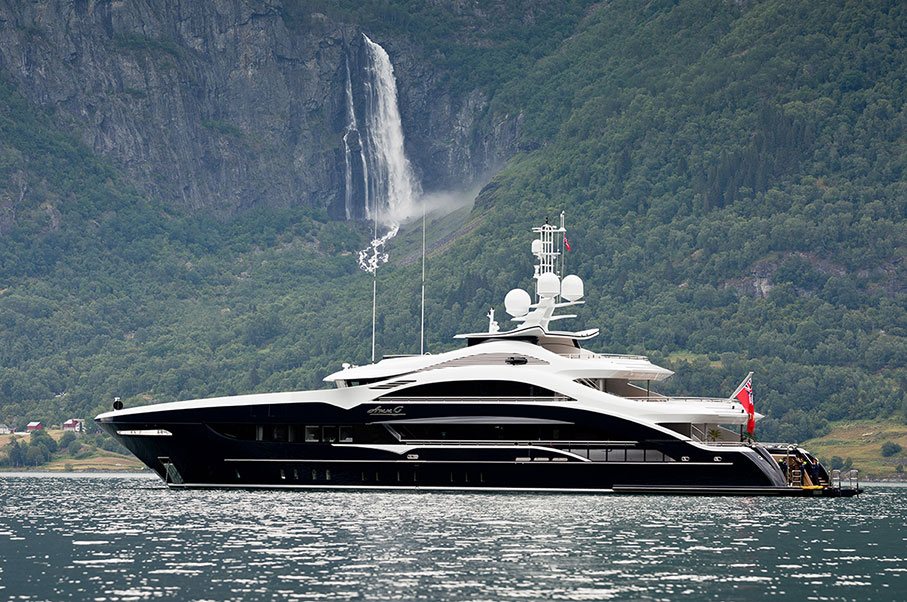 This 164-foot SuperYacht is the Very Definition of Sexy