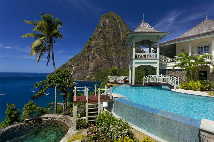 This $10 Million St.Lucia Estate is a Giant Slice of Heaven