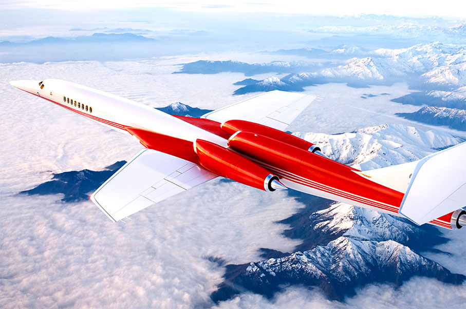 See The World's New Fleet Of Luxury Supersonic Jets Since The Concorde
