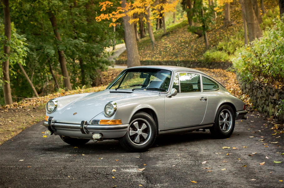 Now's Your Chance To Be The Owner of This Classy 1970s Porsche 911S