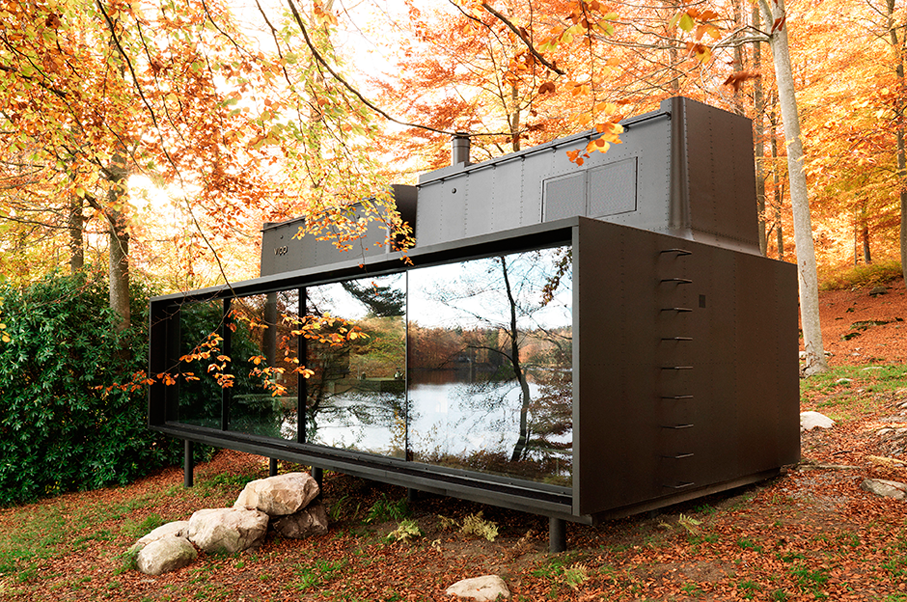 This Luxury Vipp Shelter Can Be Placed Anywhere in the World