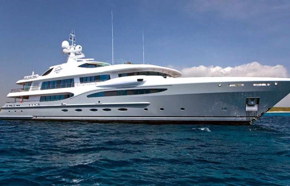 Charter This Insane SuperYacht with 12 of Your Best Friends