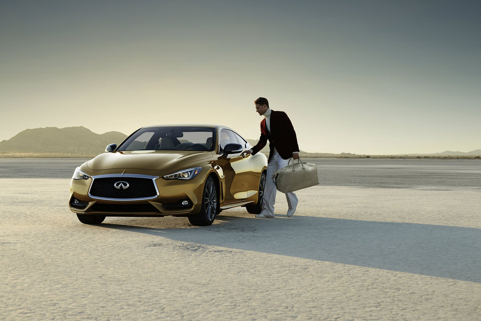 This Golden Infiniti Will Be What Everyone Secretly Wants for Christmas