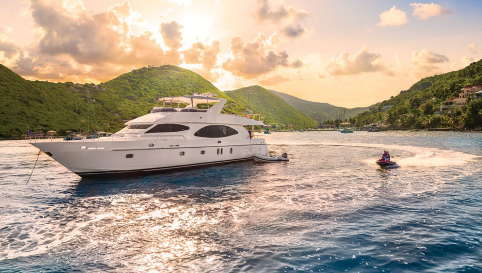 See the Virgin Islands Charter Yacht That's Literally Irresistible