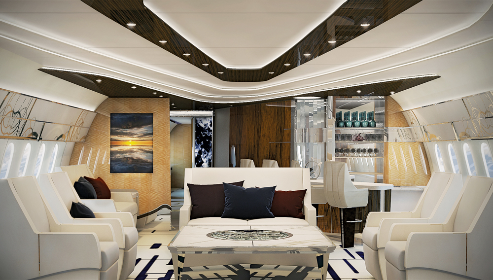 These Private Jet Interiors Actually Existu2014And Theyu0027re Next Level Luxury