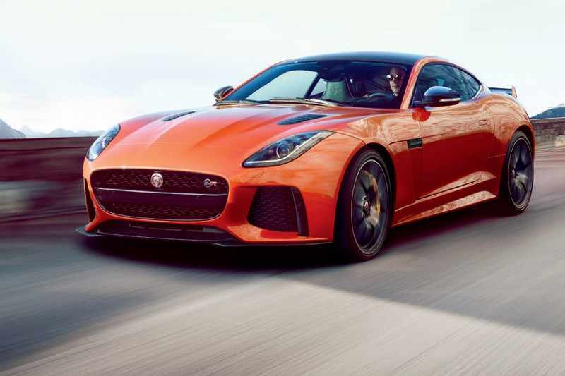 Someone Just Leaked the Jaguar F-Type SVR Luxury Coupe—And it Looks Amazing