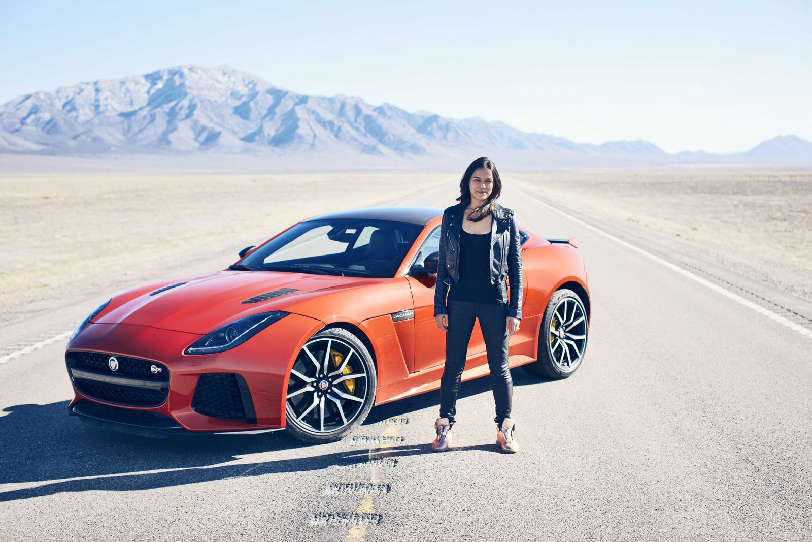 Fast and Furious Star Takes Jaguar F-Type SVR to its Top Speed