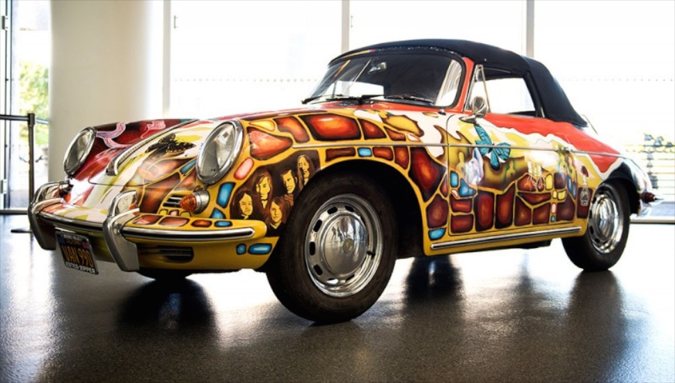 How Much Would You Pay for Janis Joplin's Psychedelic Porsche 356?