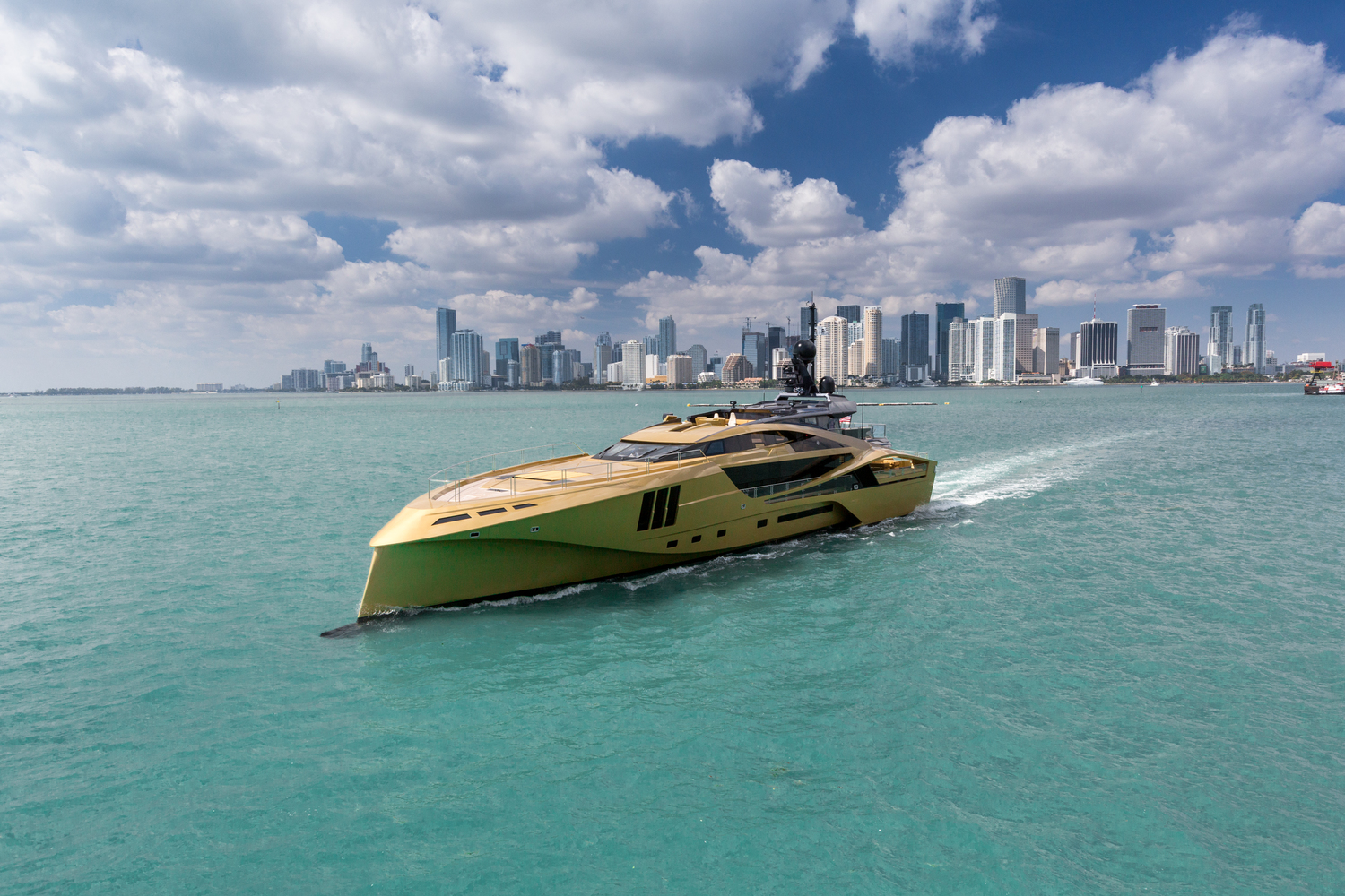 This Golden Yacht is the Most Beautiful Boat You'll Ever See!