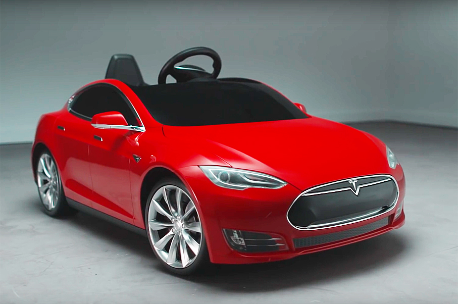 Is This Tesla Model S For Kids the Best Kids' Car Ever?