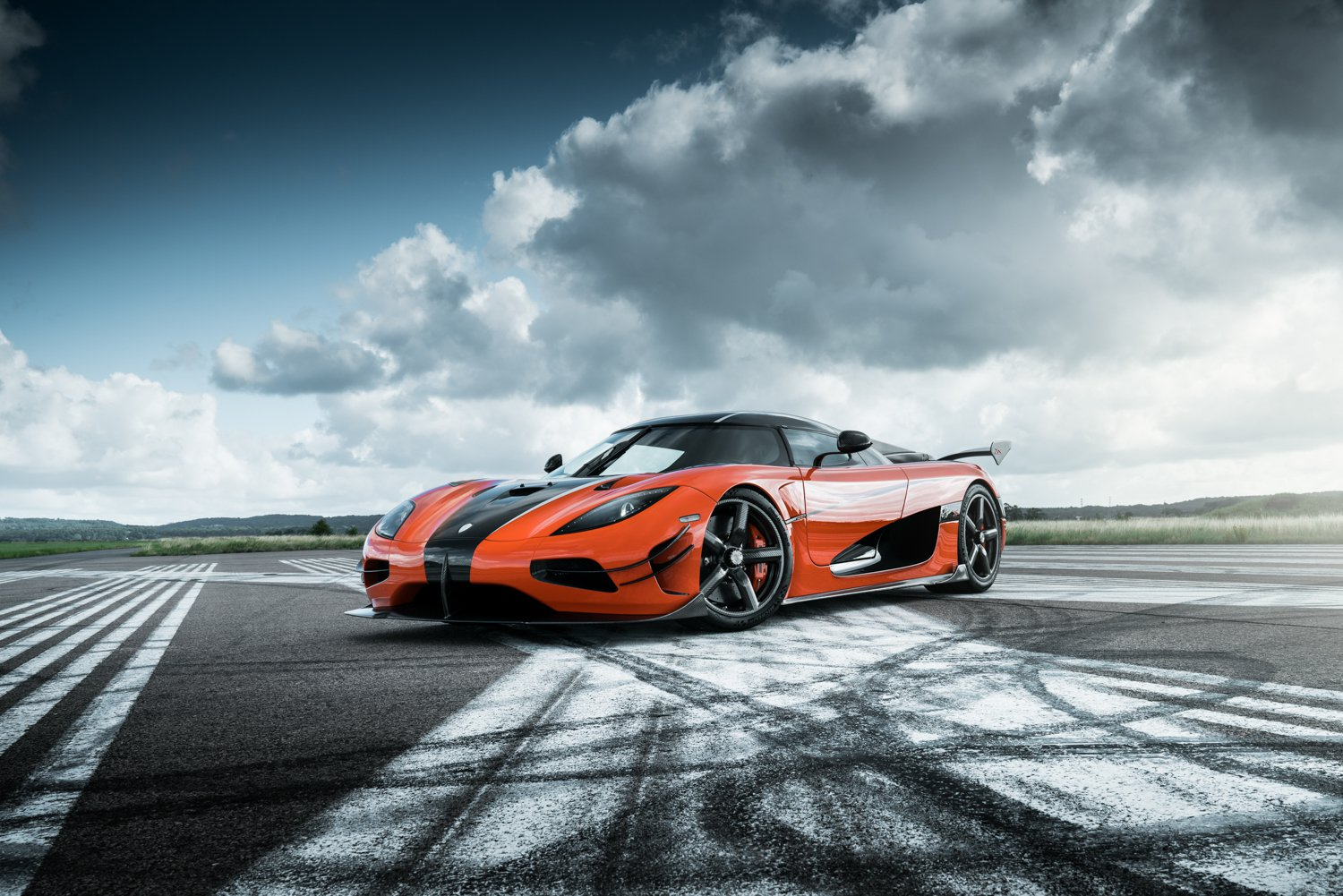 THE KOENIGSEGG AGERA RS IS NO LONGER IN PRODUCTION