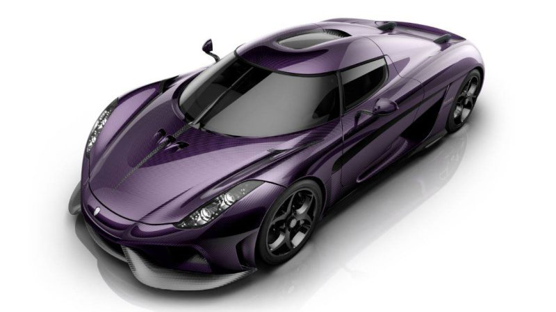 "Koenigsegg Lila Regera ""Purple Reign"" Pays Tribute To Prince"