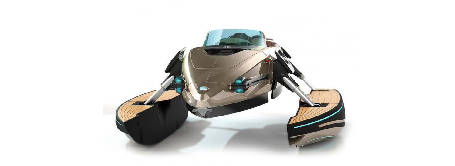 This Convertible Boat Concept is the Coolest Transformer Ever
