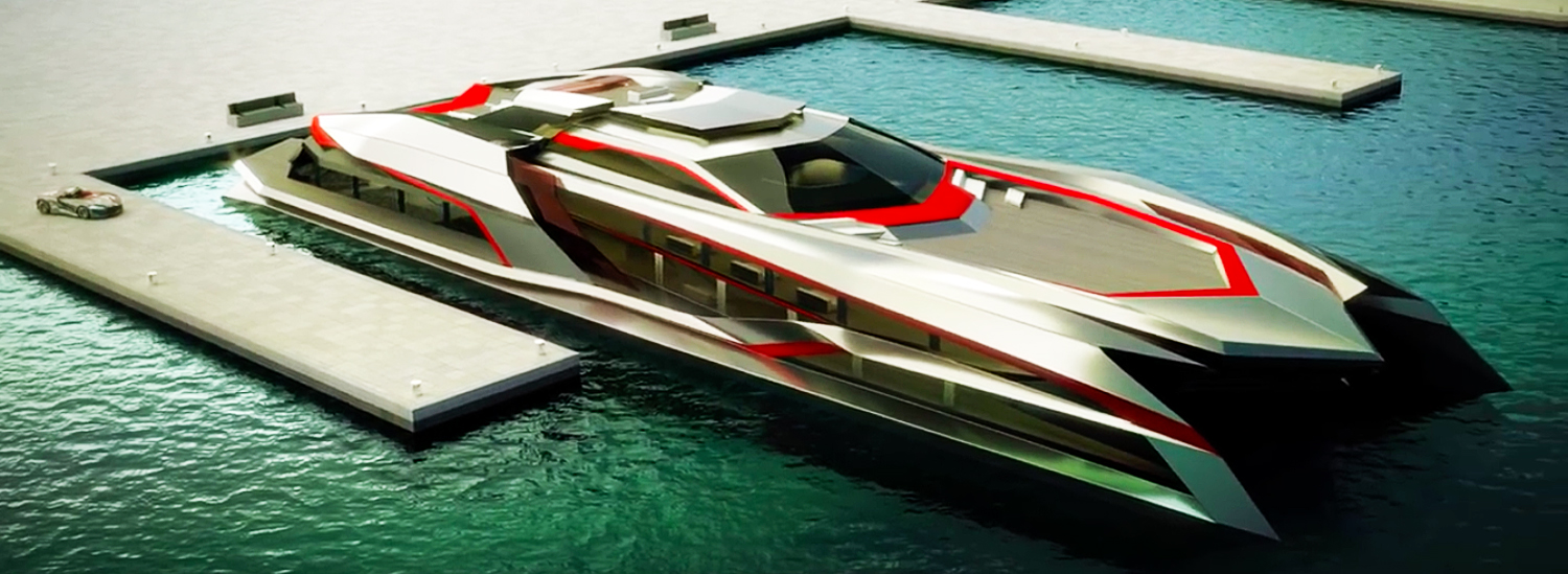 Want Your Superyacht to Match Your Hypercar? You Need This Monster