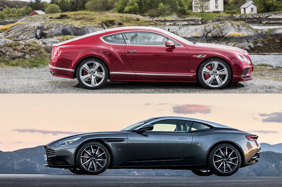 Would You Rather: Aston Martin DB11 or Bentley Continental GT Speed?