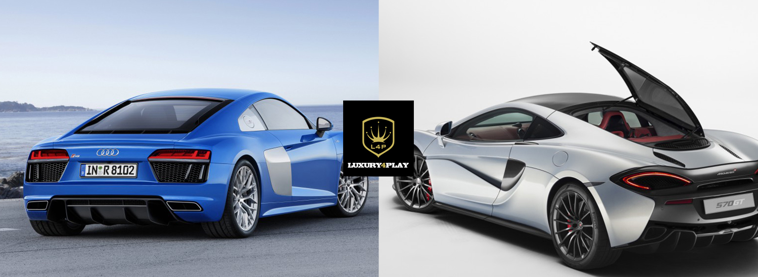 ... Would You Rather: McLaren 570GT Or Audi R8?