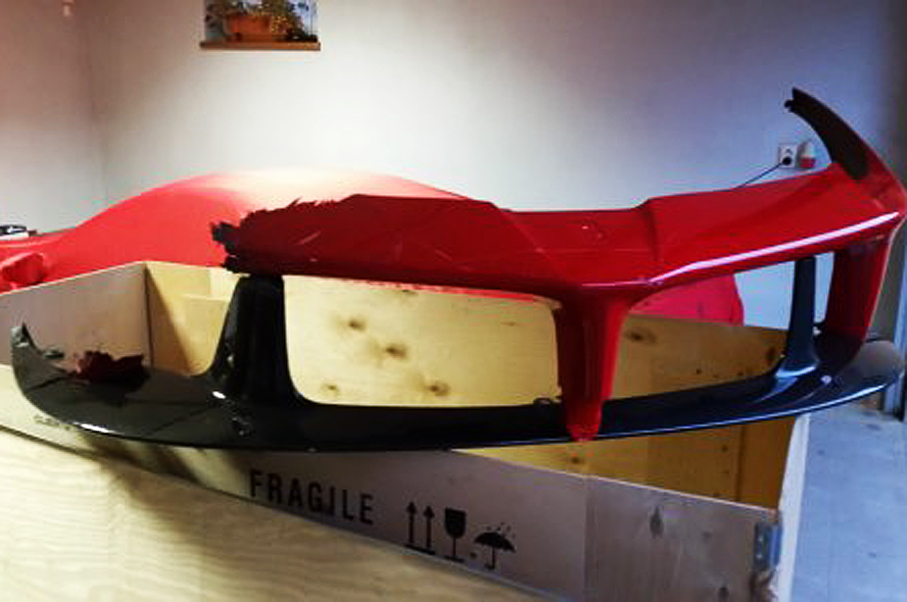 Would You Pay THIS Much for a Crashed LaFerrari Bumper ?