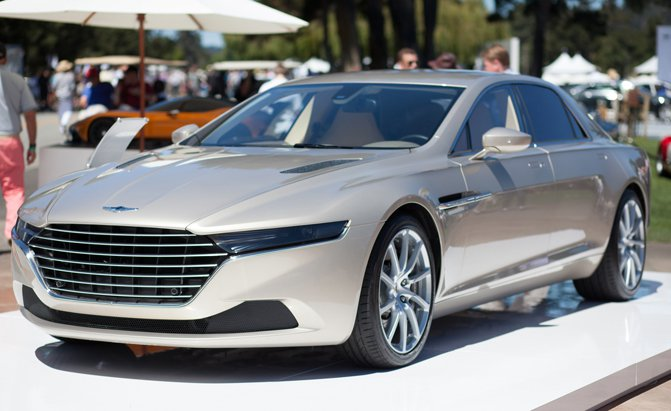 Aston Martin Could Launch a Family Of Ultra-Luxury Lagonda Sedans