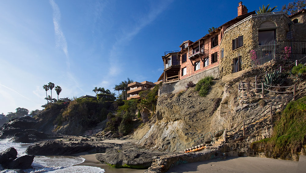 The Views From This Historic $30 Million Laguna Beach Castle are Insane