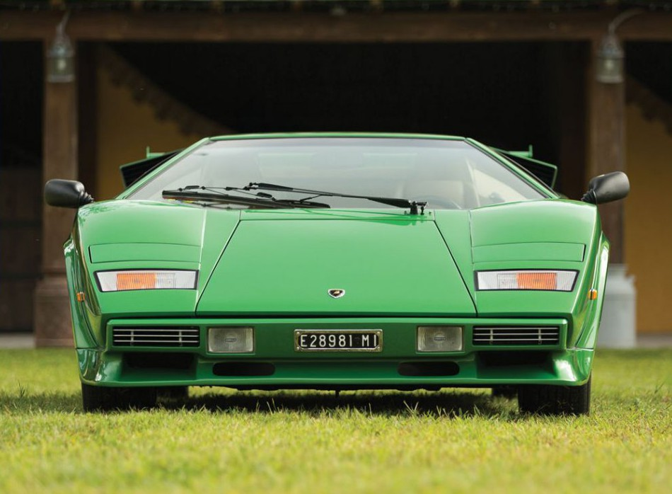 This Beautiful Rare Green 1981 Lamborghini Countach Could