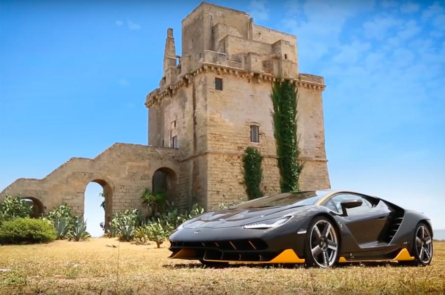 Watch the Lamborghini Centenario Hit the Track to Celebrate its Launch