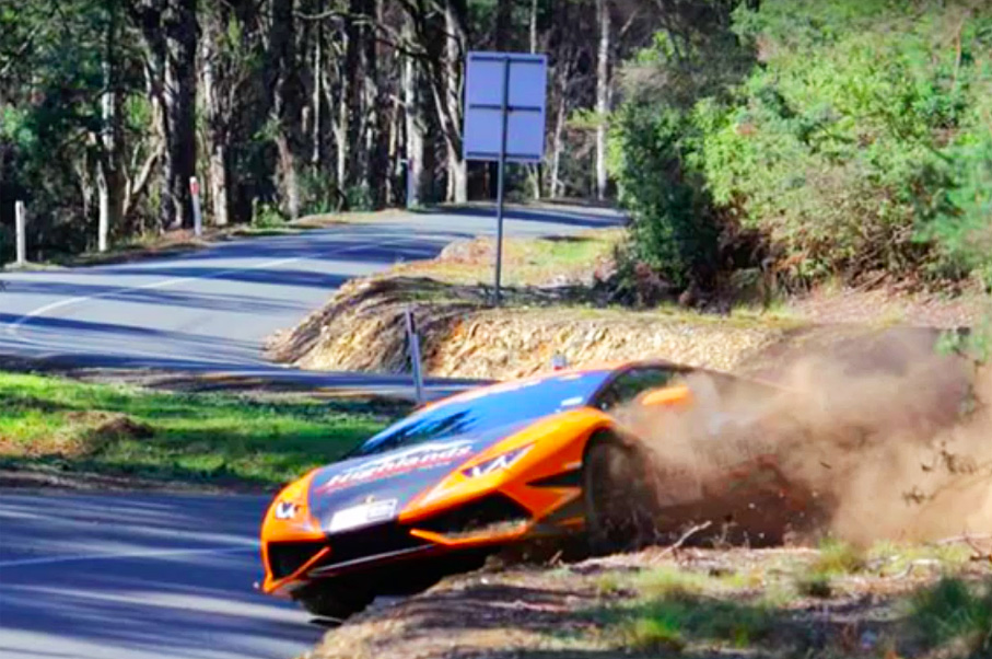 Watch This Guy Go Off-Roading in a Lamborghini Huracan
