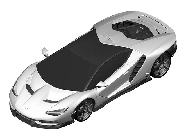 Do These Patent Images Show the New Lamborghini Centenario Hypercar?