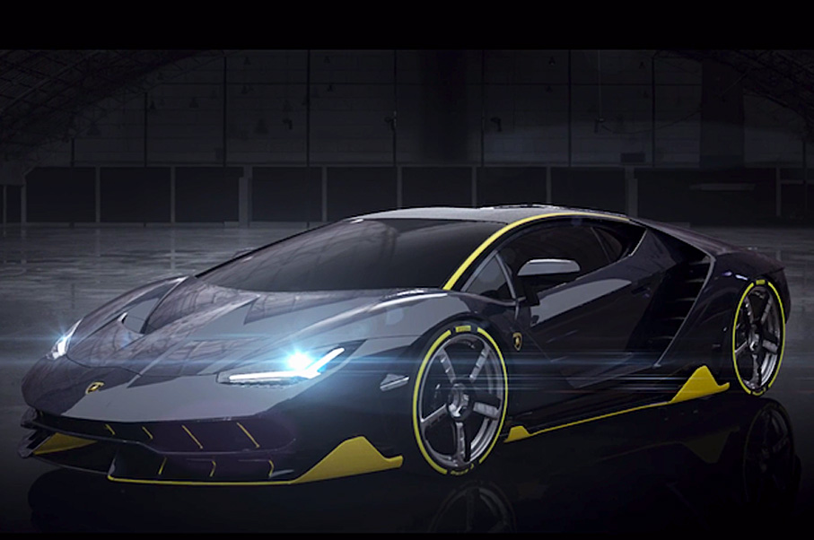 The Real Lamborghini Centenario Was Just Leaked in A Video—And It's a 770-HP Supercar