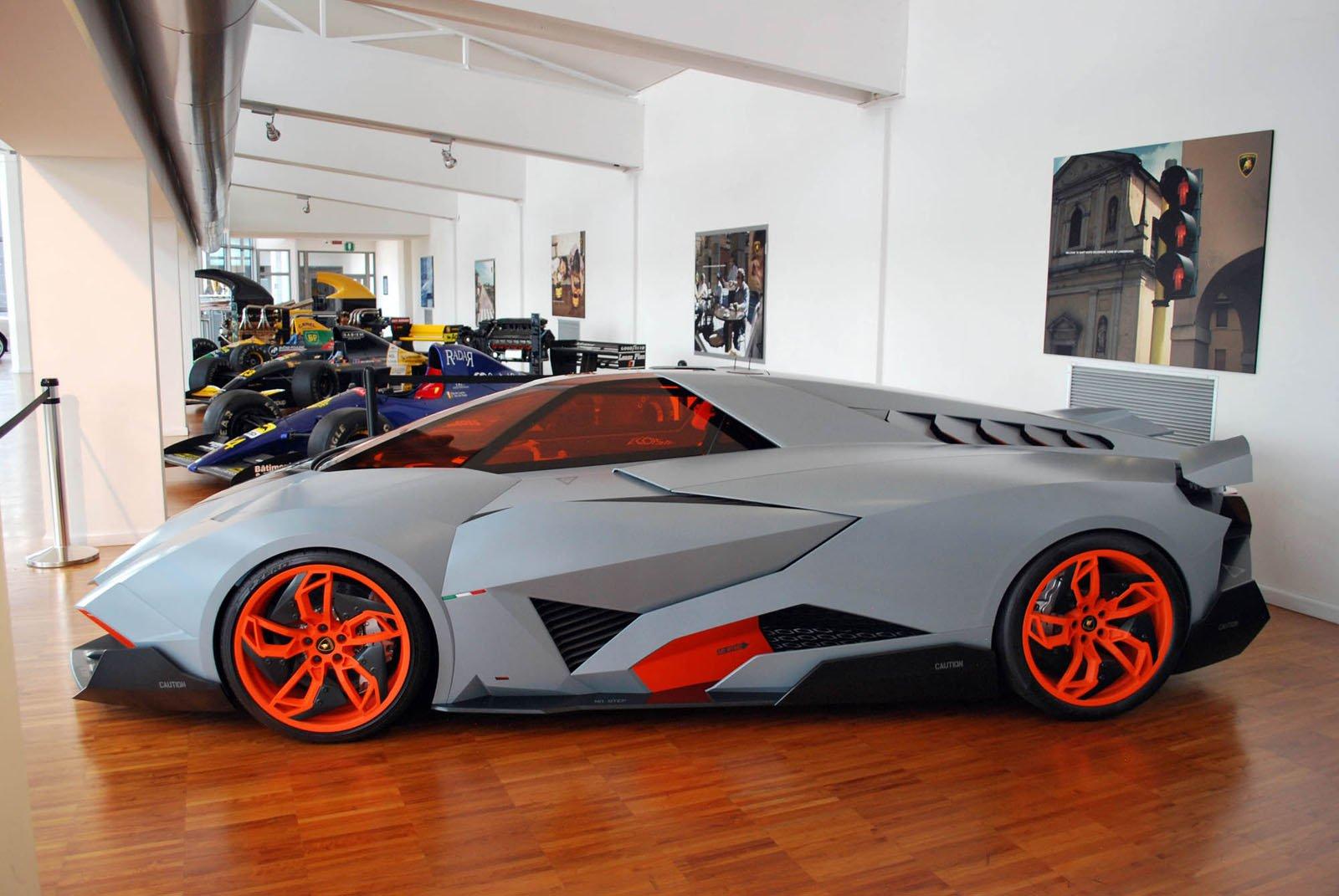 Why The Lamborghini Egoista Really Is The Most Selfish Car