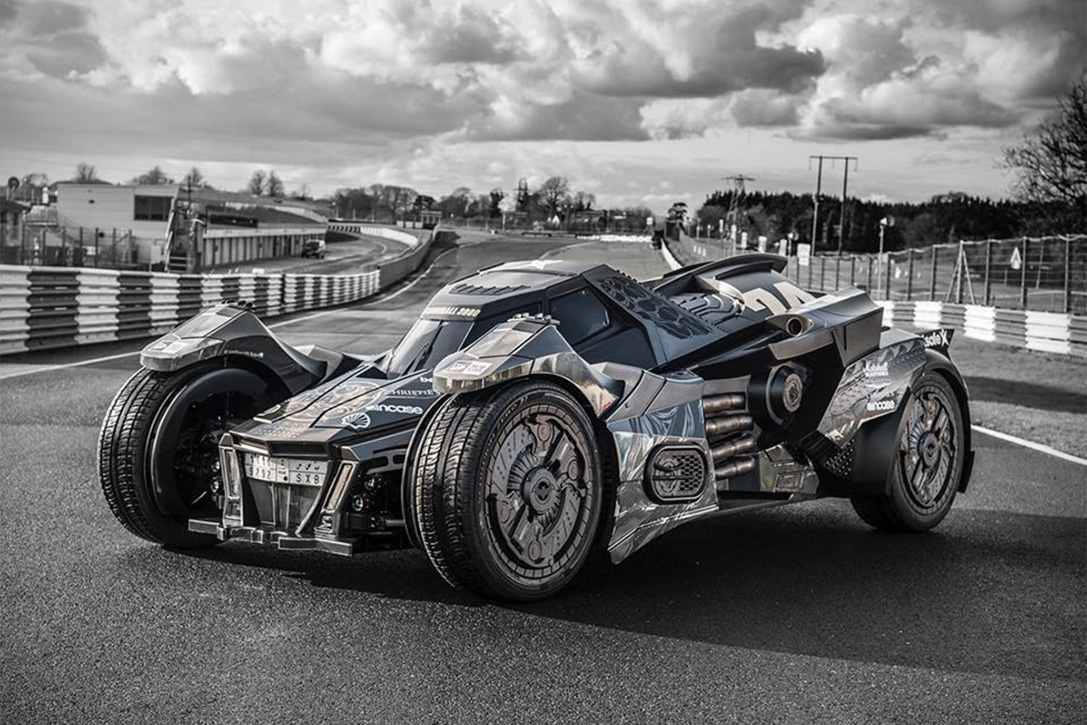 Some Guys Built a Batmobile Based on a Lamborghini Gallardo for the Gumball 3000