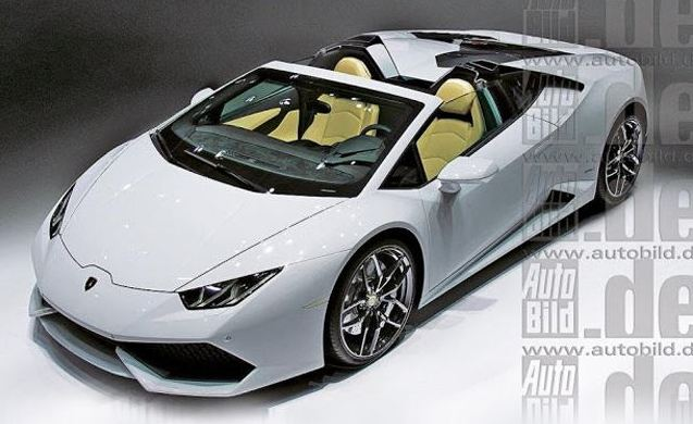 Leaked Lamborghini Huracan Spyder Photo Confirms New Model