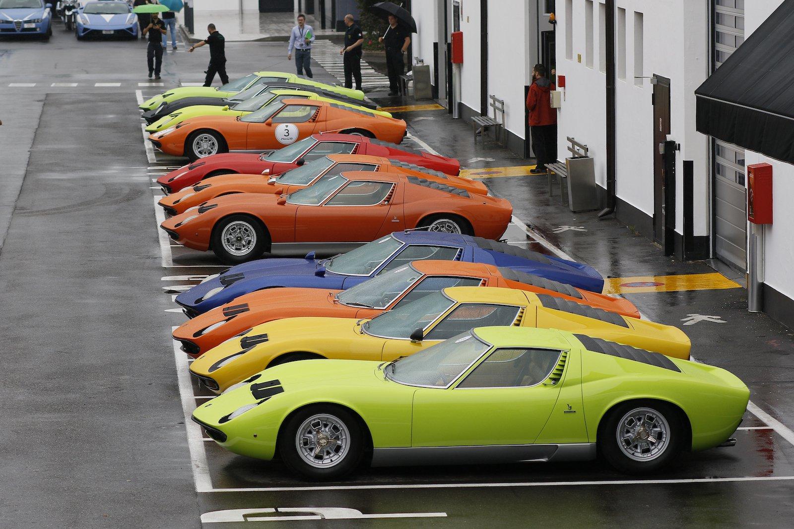 Lamborghini-Museum-Renovation-Miuras-13