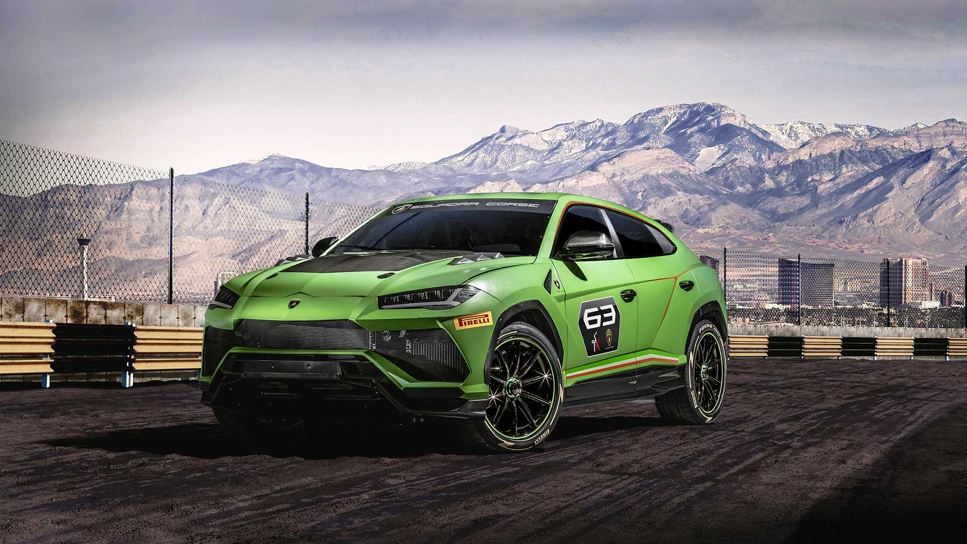 Lamborghini is Creating its Own Rallycross Series for the Urus