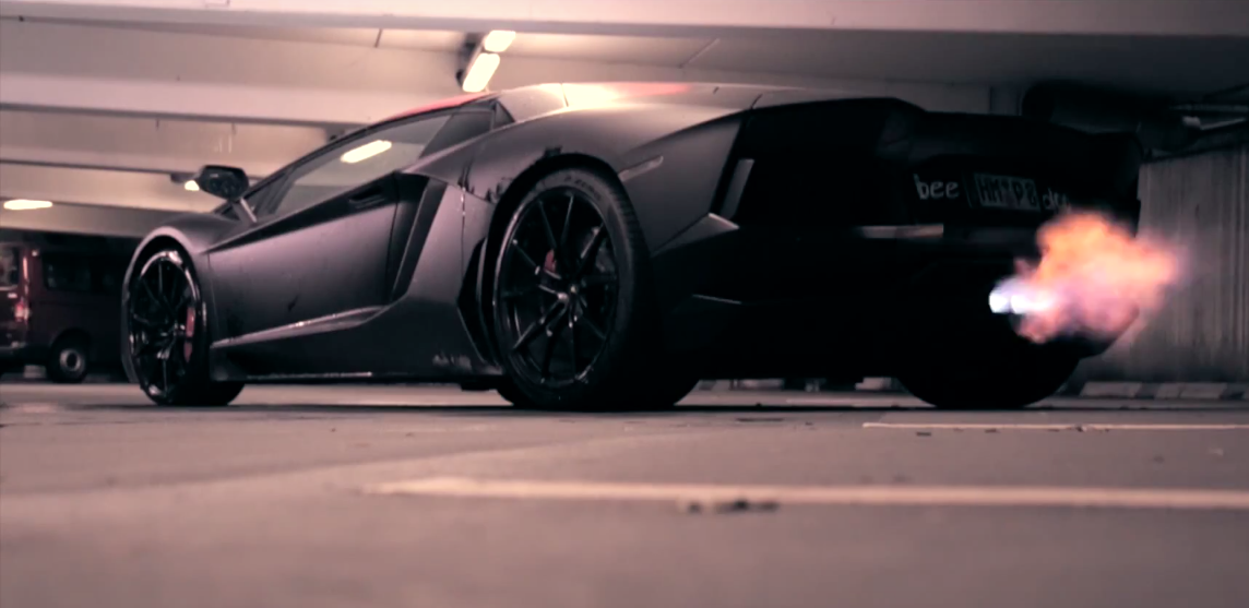 Lamborghini Offers Matte Black As A Factory Color For The Aventador, But  Despite Initial Appearances, Thatu0027s Not The Case With This Specific Example.