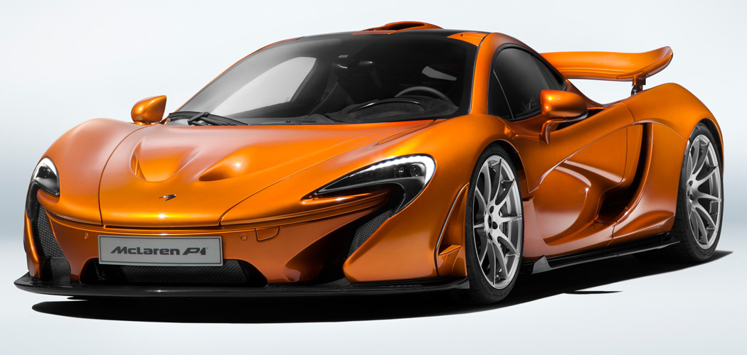 This Orange McLaren P1 is the Last Ever to Be Produced—Here's Why