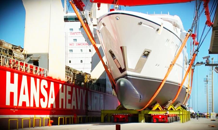 This Mega-Yacht Launch Video Makes Us Super Nervous