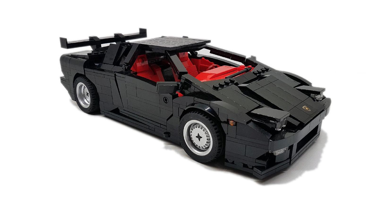 Help Make This LEGO Lamborghini Diablo a Reality