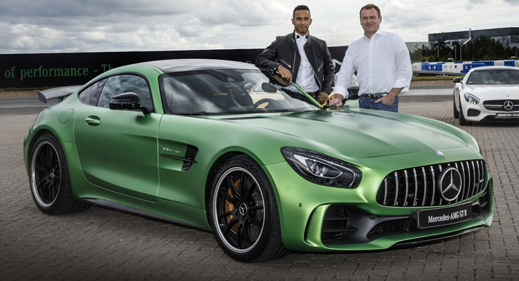 Lewis Hamilton Wants To Design His Own Extreme Mercedes-AMG GTR LH Edition