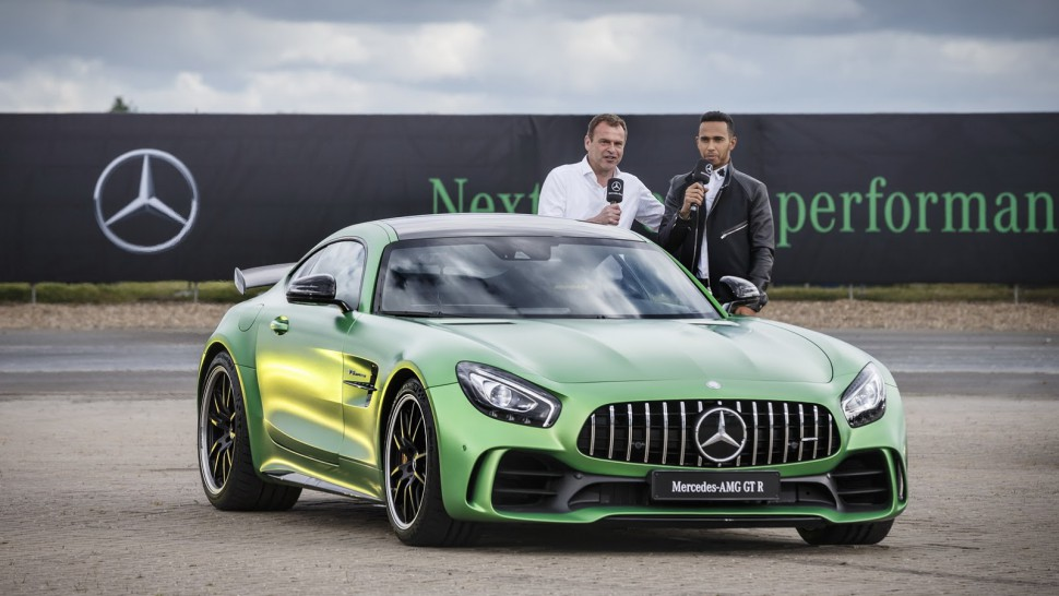 Lewis Hamilton Wants To Design His Own Extreme Mercedes