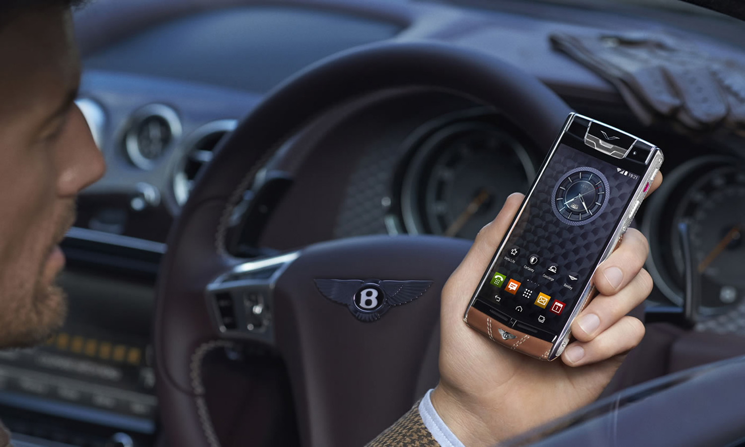The Newest Bentley Model isn't a Car, It's a Smartphone