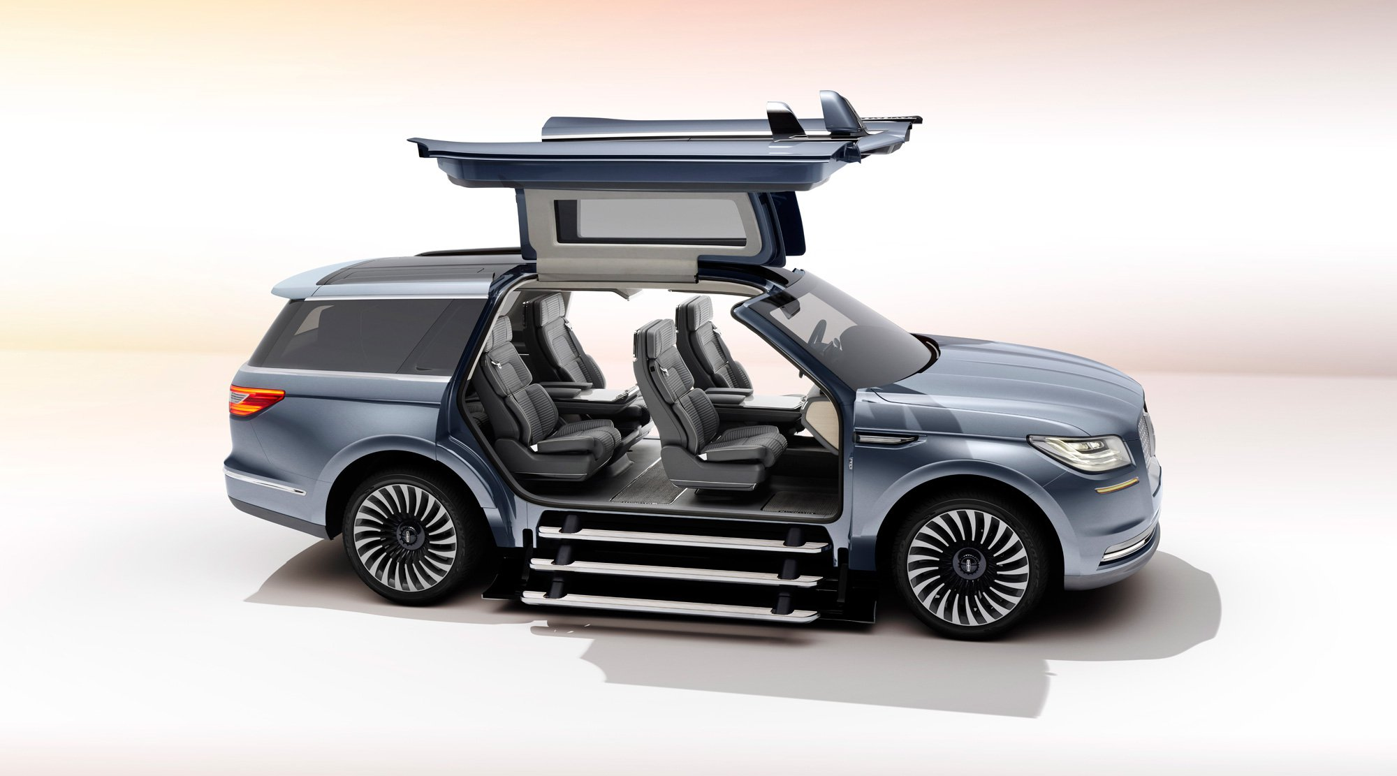 The New Lincoln Navigator Concept is a Crazy SUV with Supercar Doors